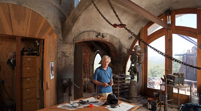 James Hubbell in his Santa Ysabel compound.jpg