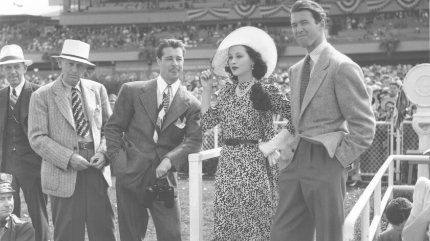 Don Ameche, Hedy Lamarr and James Stewart