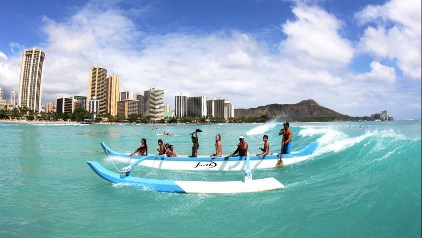 Unless you're playing around in a simple outrigger like this, cruising to Hawaii comes with some complications.
