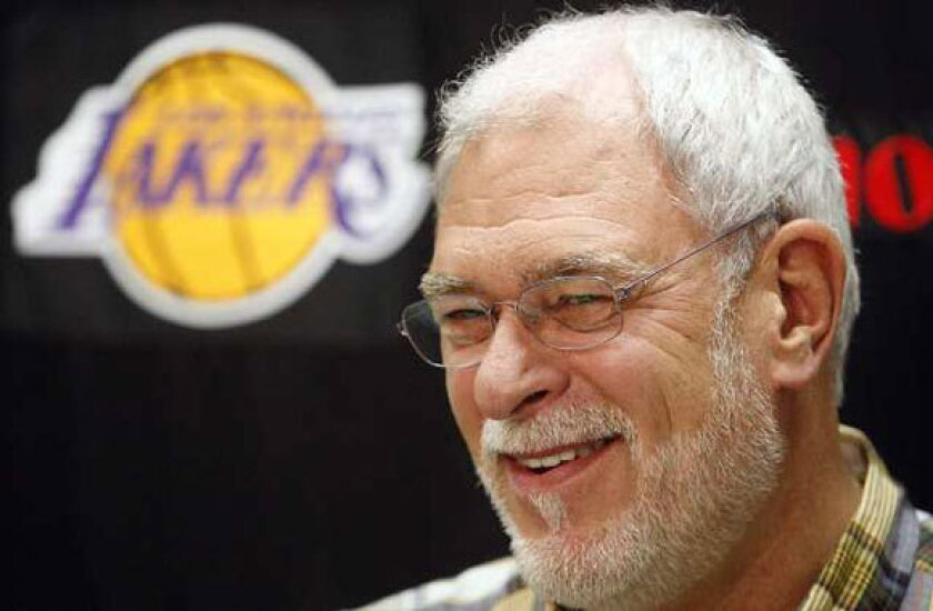 Phil Jackson has been rumored to be on his way back to the NBA numerous times since retiring as Lakers coach following the 2010-11 season.