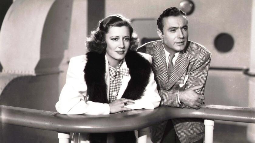 """Irene Dunne et Charles Boyer dans """"Love Affair""""."""