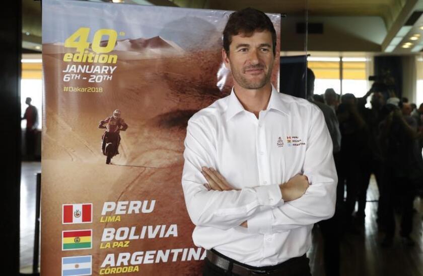 Marc Coma durante su etapa como director deportivo del Rally Dakar. EFE/Archivo