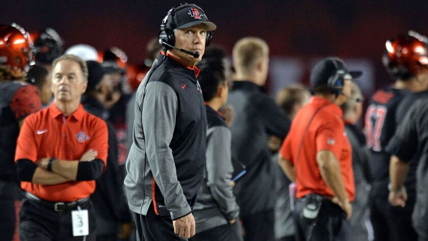 San Diego State head coach Rocky Long continues to remold the SDSU coaching staff.