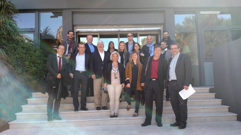 San Diego delegation and PACA partners outside the offices of Innate Pharma.