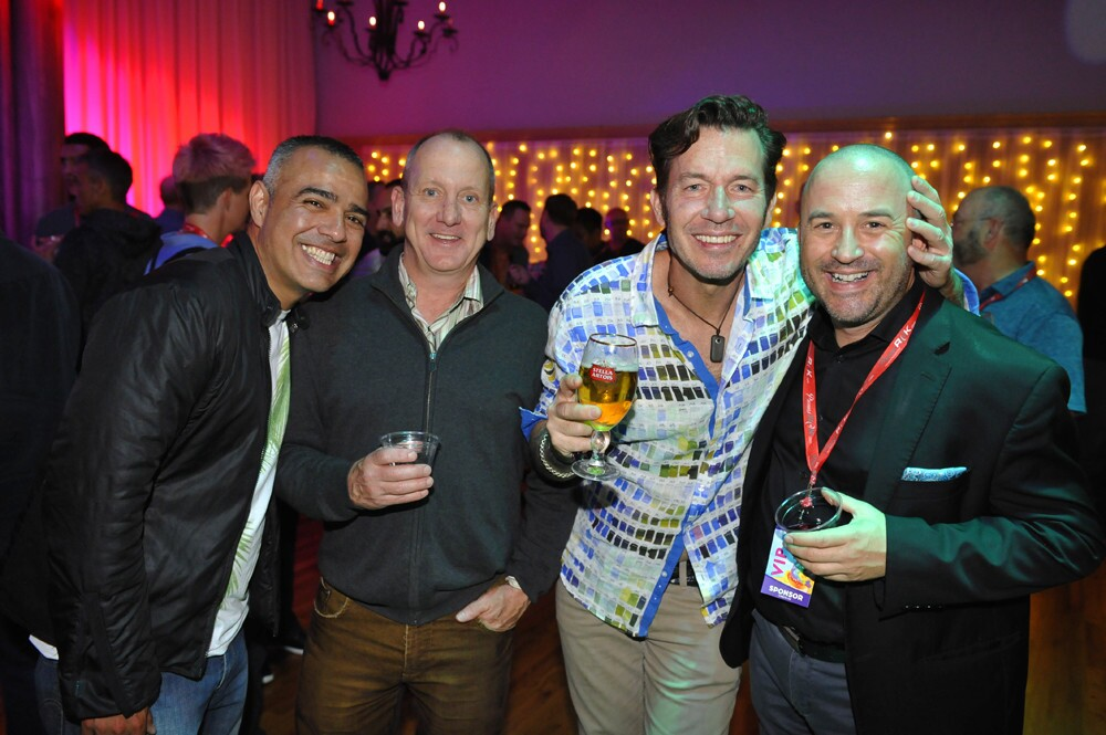 Film fans celebrated the kick-off to FilmOut San Diego's 20th annual LGBT Film Festival at the Opening Night Party at Sunset Temple in North Park on Thursday, June 7, 2018.