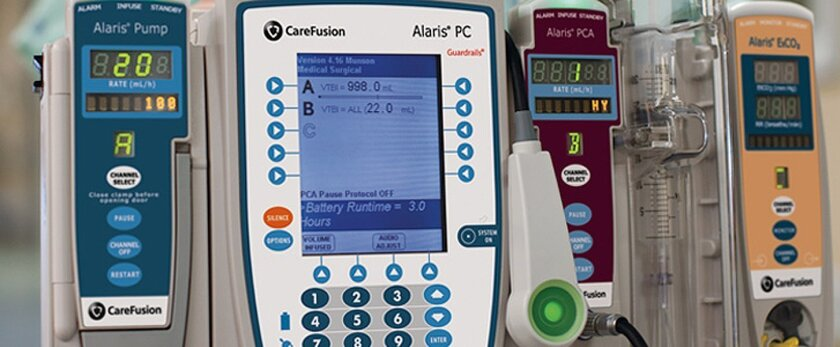 CareFusion's medical infusion pumps.