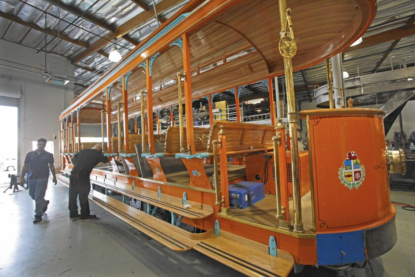 Chatsworth trolley maker is expanding