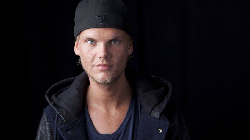 """Tim Bergling, aka Avicii, in 2013. The DJ and producer committed suicide on April 20, 2018. A posthumous album, titled """"Tim,"""" was released this week."""