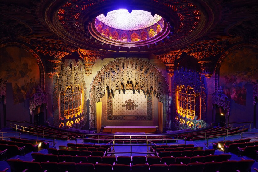 Downtown's newly updated United Artists theater recently reopened inside the Ace Hotel.