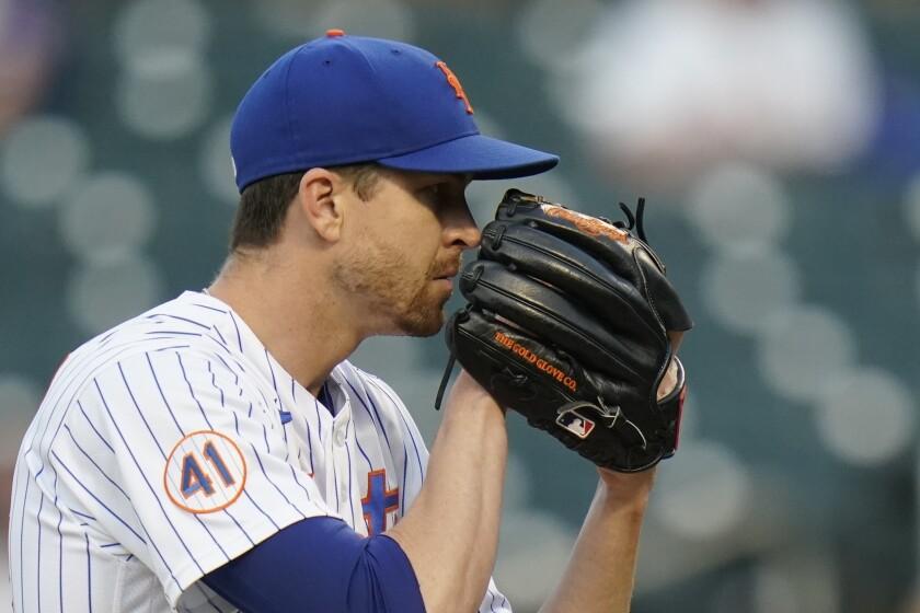 New York Mets starting pitcher Jacob deGrom