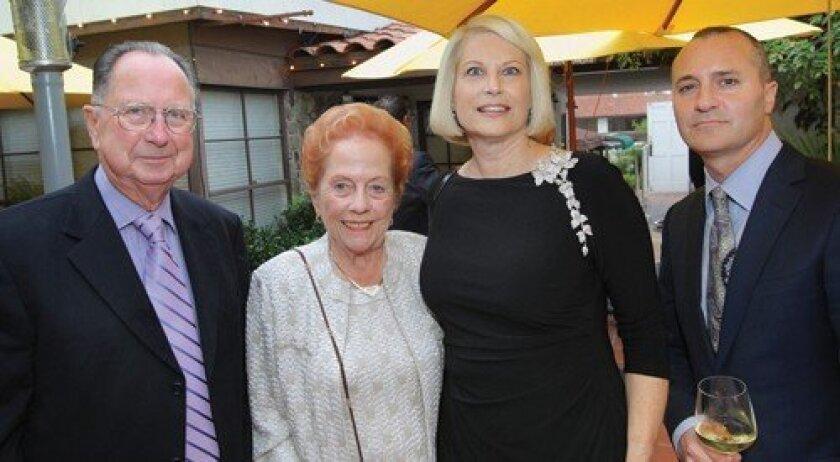 Keith Webb, Priscilla Webb, Suzanne Newman, Todd Hoyles  (Photo: Jon Clark)