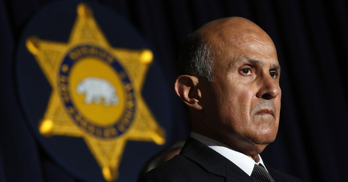 Ex-Sheriff Lee Baca wahrscheinlich fuhren zum Gefängnis, nach dem Supreme Court lehnt überprüfung Fall