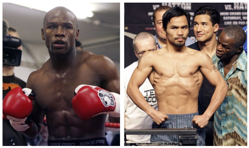 How Much Would You Pay For Floyd Mayweather Vs Manny Pacquiao On Ppv Los Angeles Times