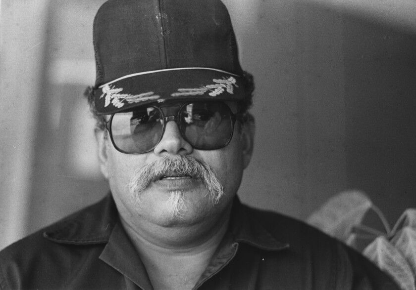 Jerry Espinoza, an unemployed steelworker.