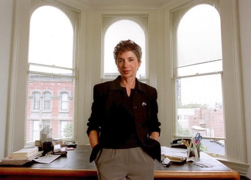 Attorney Susan Jordan, seen in her Oakland office in 1999, had represented medical marijuana growers and former Symbionese Liberation Army member Sara Jane Olson.