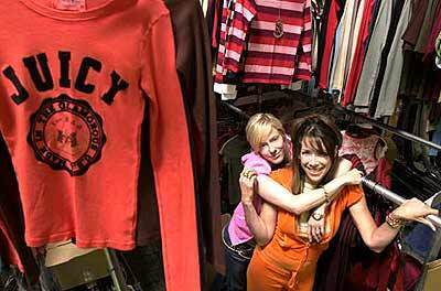 Juicy Couture co-founder Gela Nash-Taylor and business partner Pamela Skaist-Levy