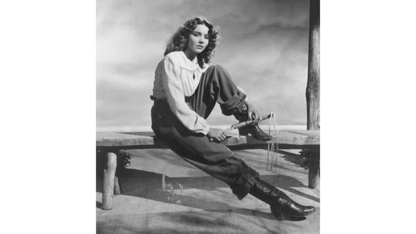 """Jennifer Jones in """"Duel in the Sun"""" (1946)."""