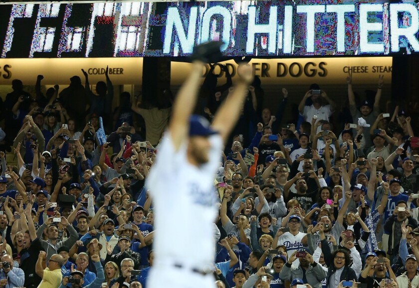 Clayton Kershaw's no-hitter against the Colorado Rockies was the 283rd in baseball history, but the first to include 15 strike outs and no walks.