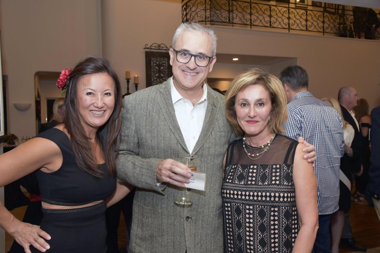 Alison Lee, Mark and Shabnam Shaffer