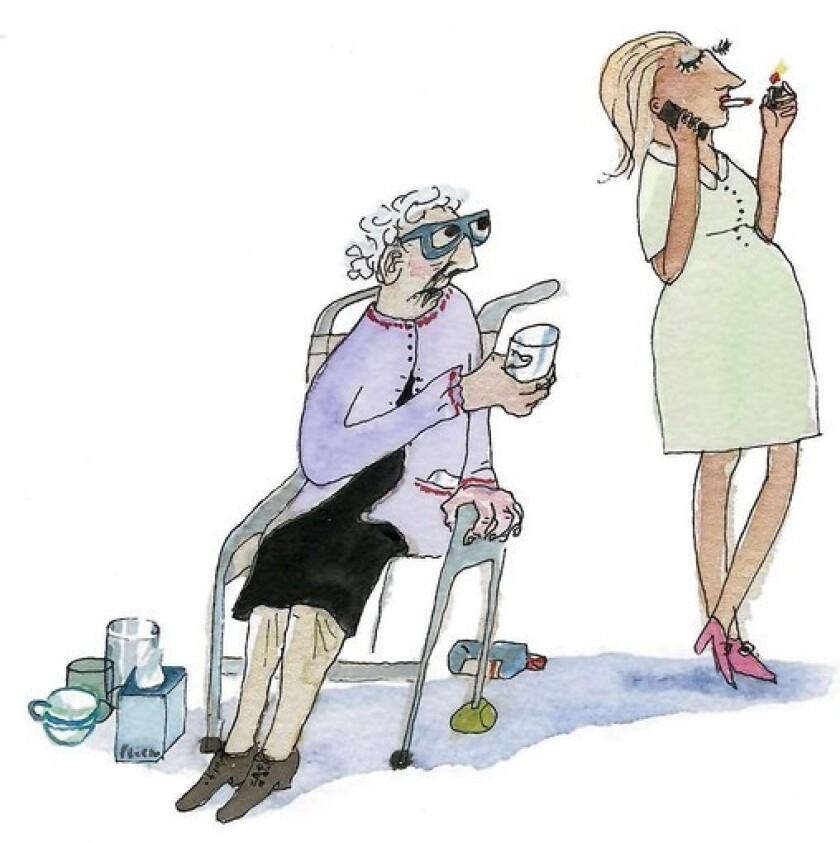 Choosing a caregiver for your elderly parent