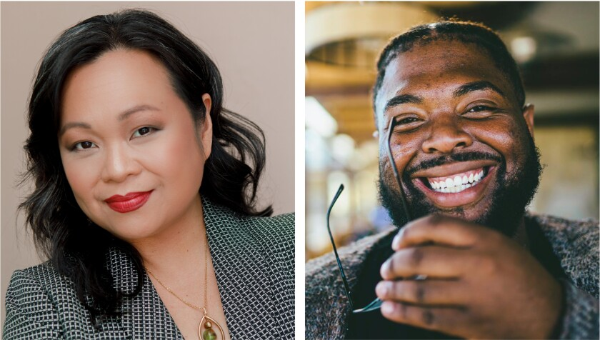 Kim Montelibano Heil, left, and Lamar Perry have been appointed associate producers at The Old Globe.