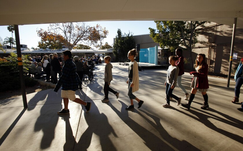 San Diego Unified and three other school districts have joined a legal brief arguing against one of President Donald Trump's executive orders on immigration.