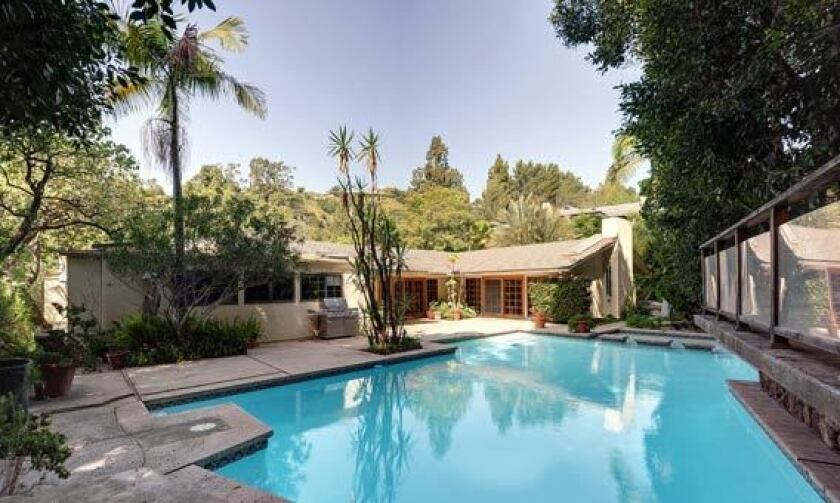 Actor Billy Dee Williams' longtime Beverly Hills house.