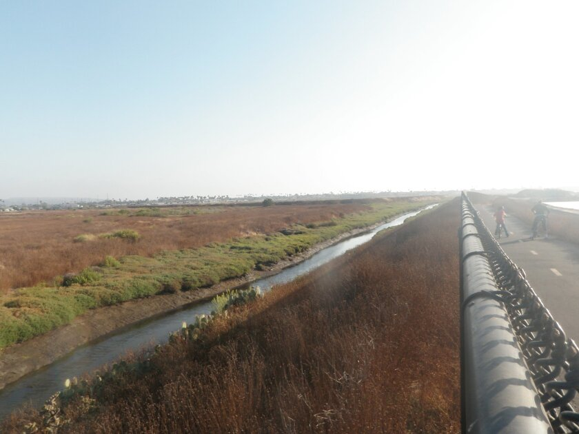 The Otay River Delta, in San Diego County.
