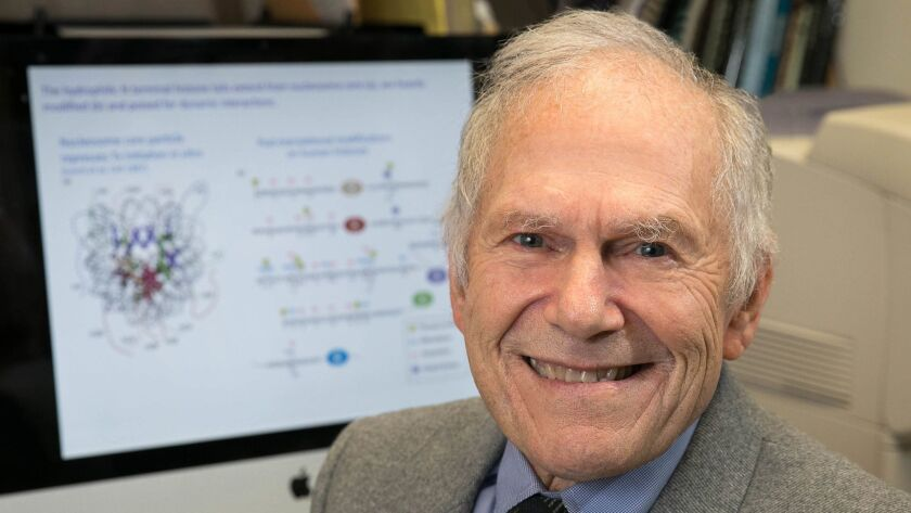 UCLA's Michael Grunstein shares a 2018 Lasker Prize for his work on genes and how they are turned on and off by histones.