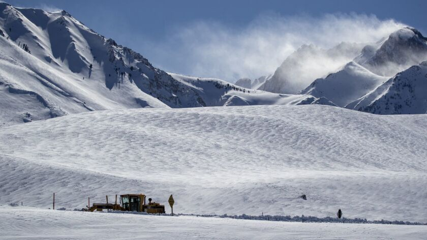 Pacific storms continue to pile snow onto Sierra Nevada
