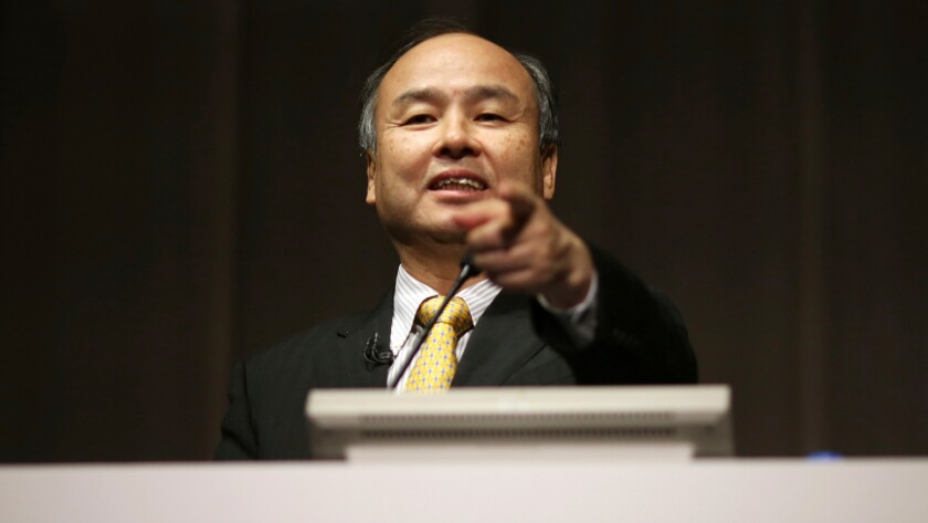 Masayoshi Son is SoftBank's founder and chief executive.