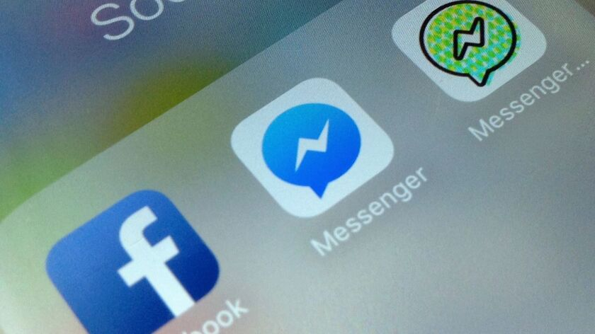 Blackberry says Facebook apps including Messenger, Instagram and WhatsApp use some messaging capabilities that were originally designed by BlackBerry.