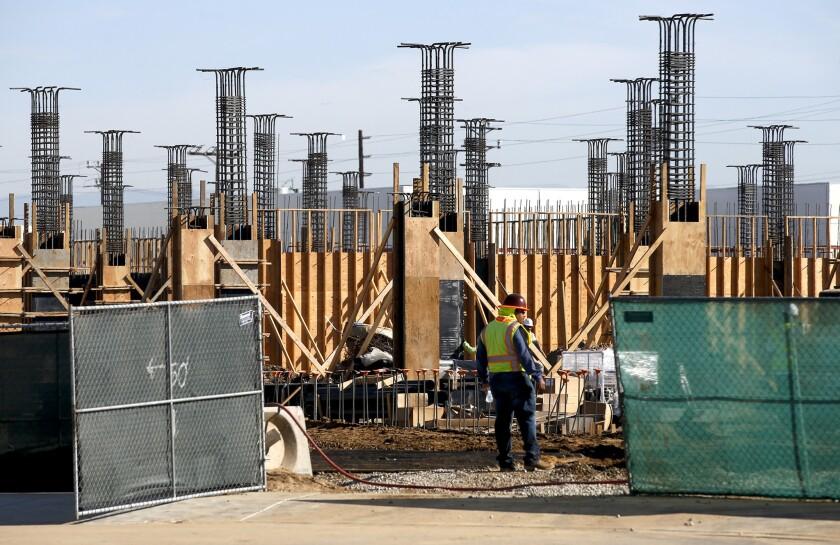Sea Breeze development under construction in Harbor Gateway