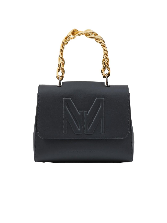 Marcell Von Berlin MM chain top handle bag, $1,080, us.marcelvonberlin.com