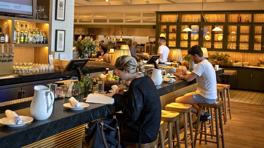 The Farmhouse is one of the new restaurants at the redesigned Beverly Center.