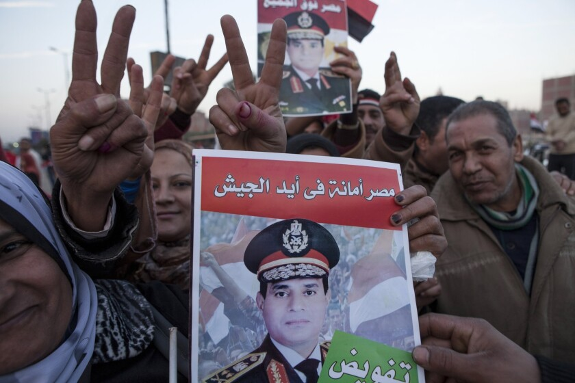 A Referendum Vote Is held In Egypt Over A New Constitution