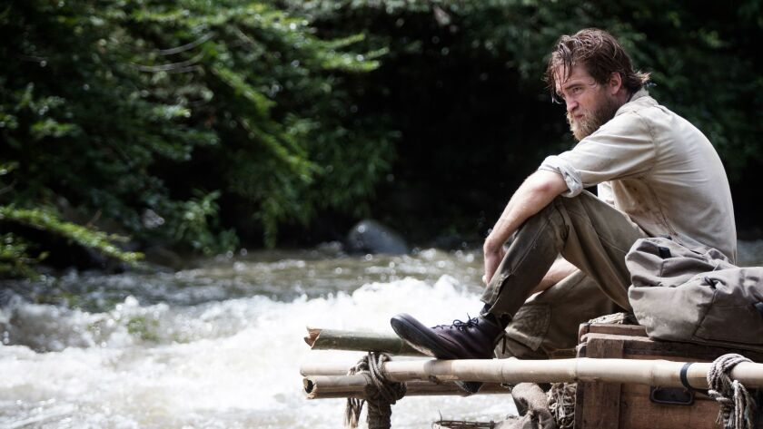 """Robert Pattinson as Henry Costin """"The Lost City of Z."""""""