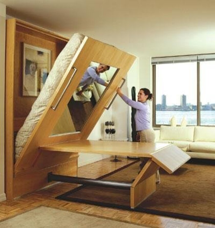 Bouncing Back Once Comical Murphy Beds Now Space Saving Must Haves The San Diego Union Tribune