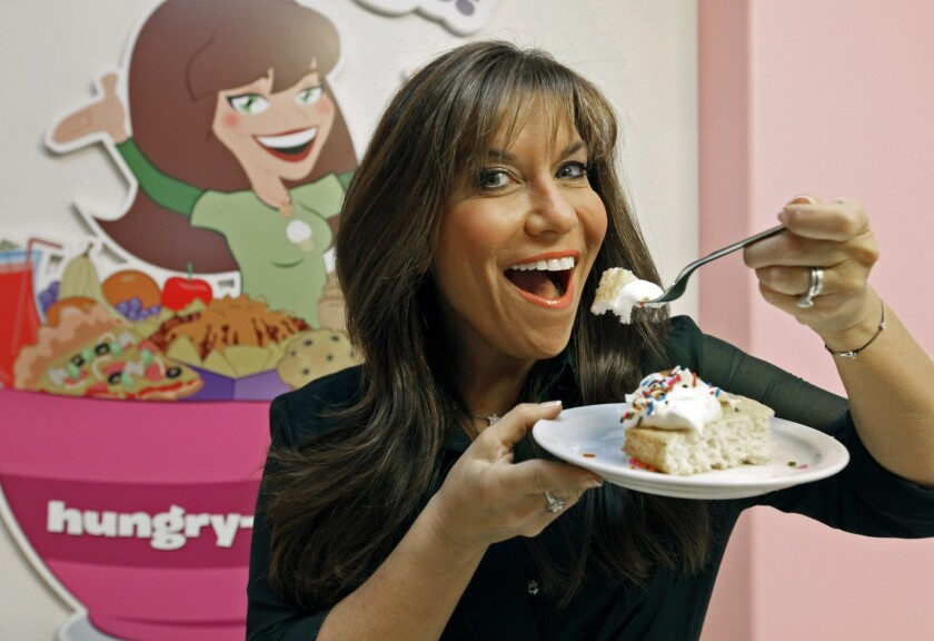 """Hungry Girl"" Lisa Lillien is a genius at shaving calories from cake and other cravings and sharing recipes with fans."