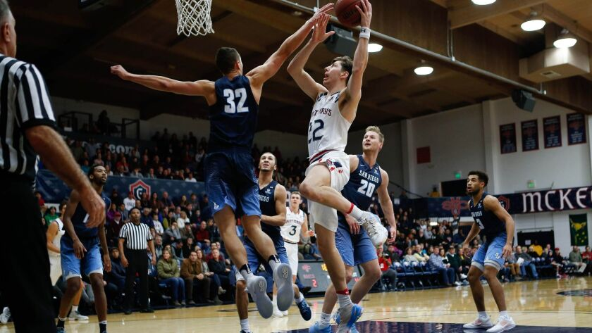 Toreros forward Brett Bailey says having a 1 percent chance to win at Gonzaga is better than most teams would have there.