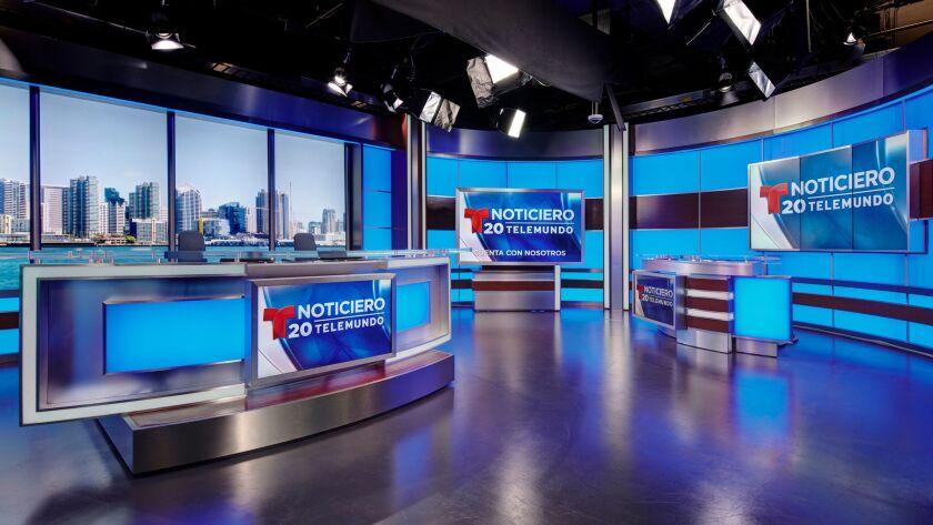 The new Telemundo 20 news station