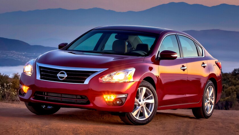 Sales of the Nissan Altima were off nearly 15% in January, so incentives are likely.
