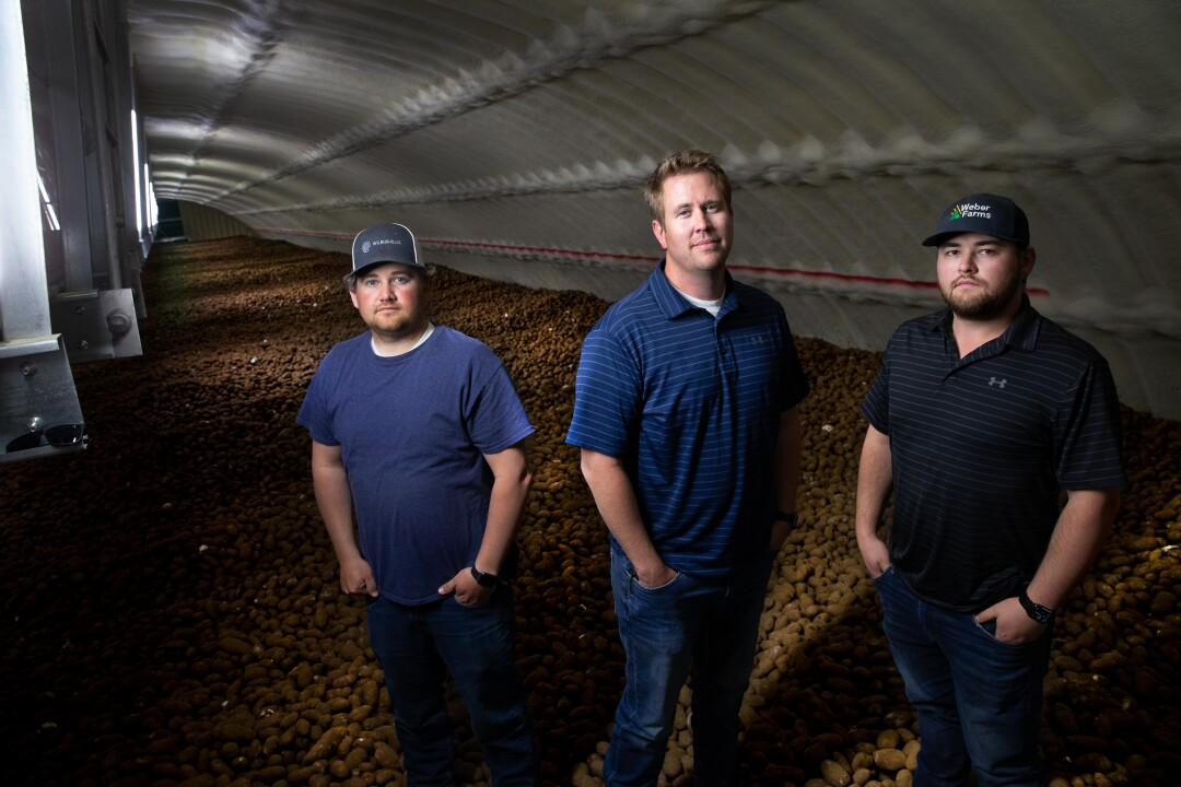 A billion pounds of potatoes surplus in Washington state