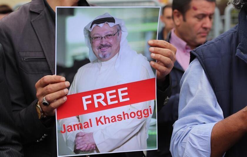 """Estados Unidos pidió hoy a Arabia Saudí que apoye una investigación """"exhaustiva"""" y """"transparente"""" sobre la desaparición del periodista saudí Jamal Khashoggi, después de que Turquía aumentara la presión sobre el reino saudí para aclarar el paradero del reportero. EFE/ARCHIVO"""