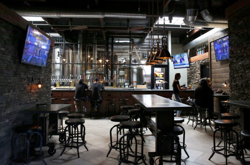 Cork & Craft in Rancho Bernardo houses Abnormal Beer Co. and Abnormal Wine Co. (Nancee E. Lewis)