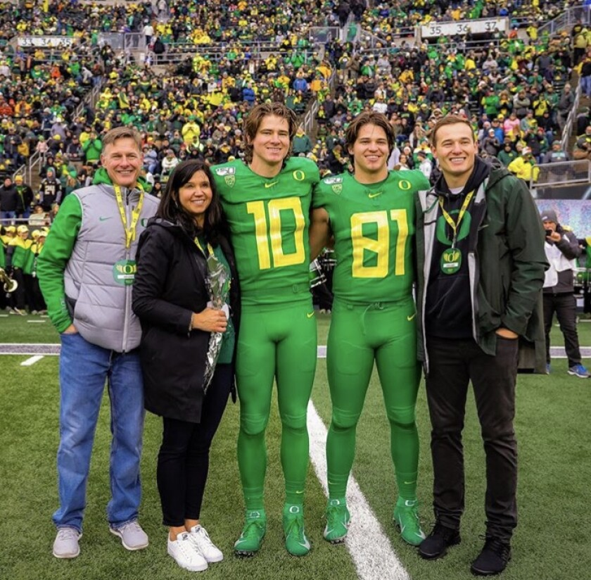 Justin Herbert Family
