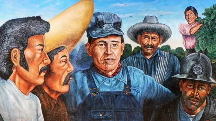 Chapman University will feature the art of the late Orange County muralist Emigdio Vasquez. This is