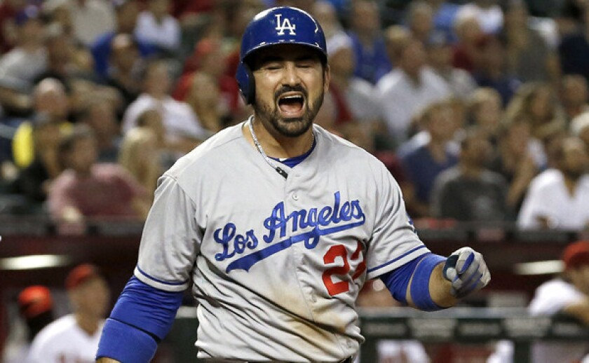 Dodgers are feeling some heat and it's not even October