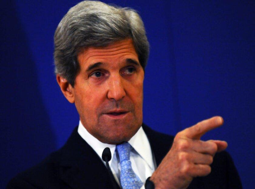 John Kerry urges Turkish leader to delay Gaza Strip visit