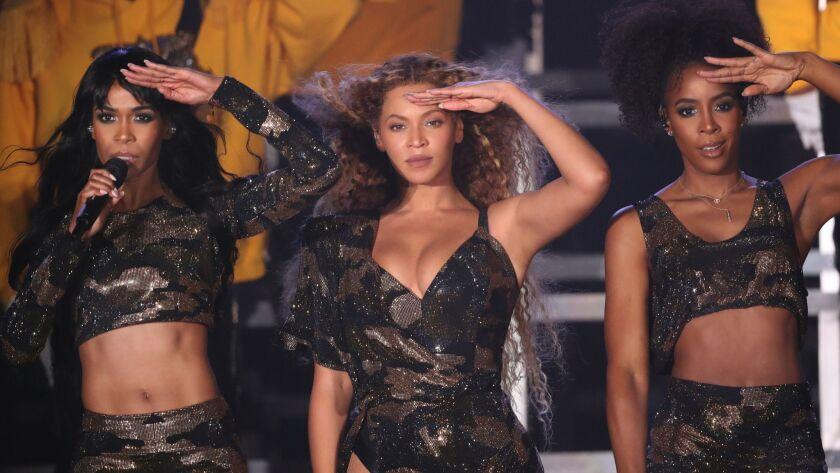 Destiny's Child at Coachella 2018.